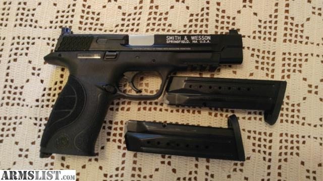Armslist for sale m p performance core ported full size 9mm for M p ported core 9mm