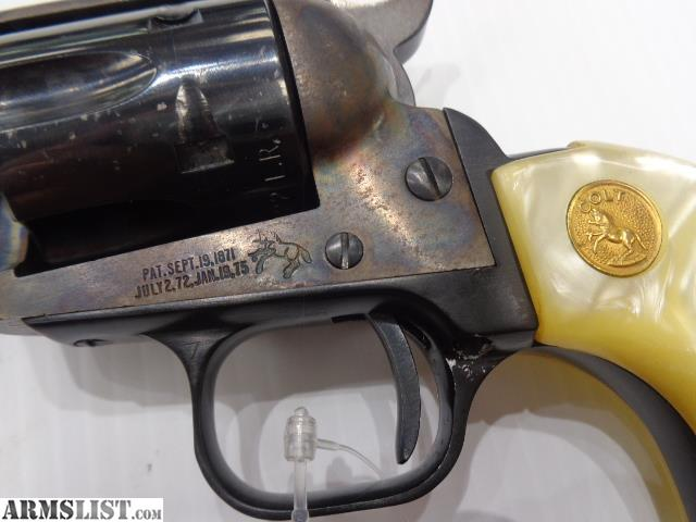 Armslist For Sale Colt Peacemaker 22 Caliber Single