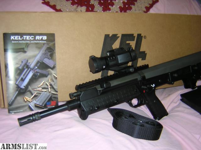 armslist for sale kel tec rfb 308 bullpup rh armslist com Kel-Tec SU-16 kel-tec rfb instruction manual