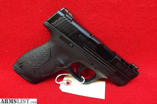 Armslist for sale 4630 s w shield 9mm 3 1 7rd ported for M p ported shield 9mm