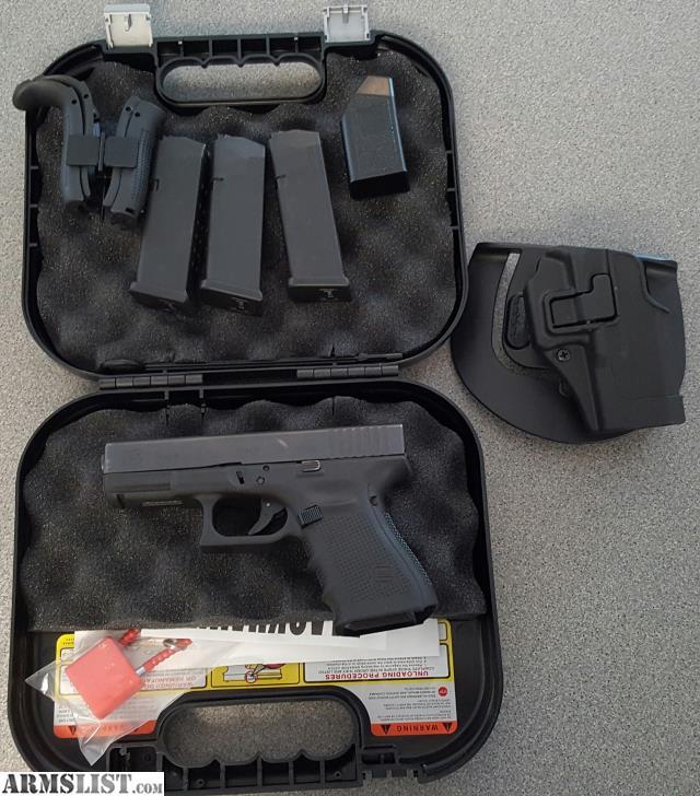 armslist for sale glock 19 gen 4 with blackhawk serpa