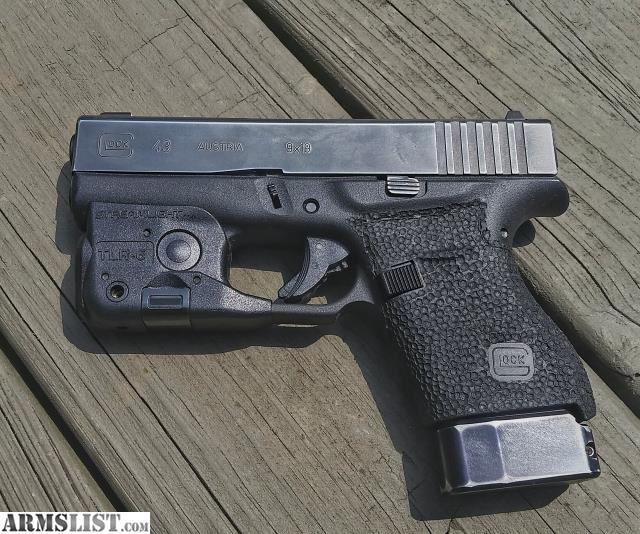 Armslist for trade glock 43 - Armslist For Sale Custom Glock 43 With Tlr 6
