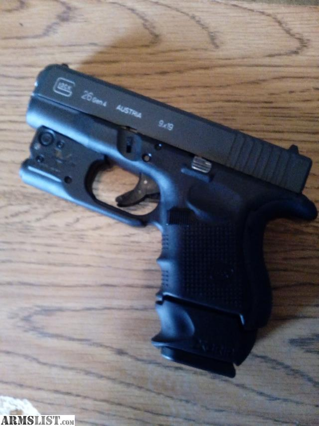 armslist  trade  glock 26 w  tac light