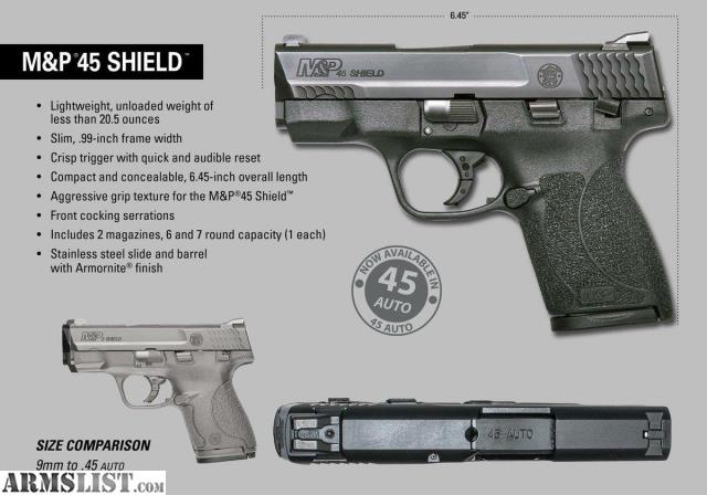Smith & Wesson 45 Shield | CINEMAS 93