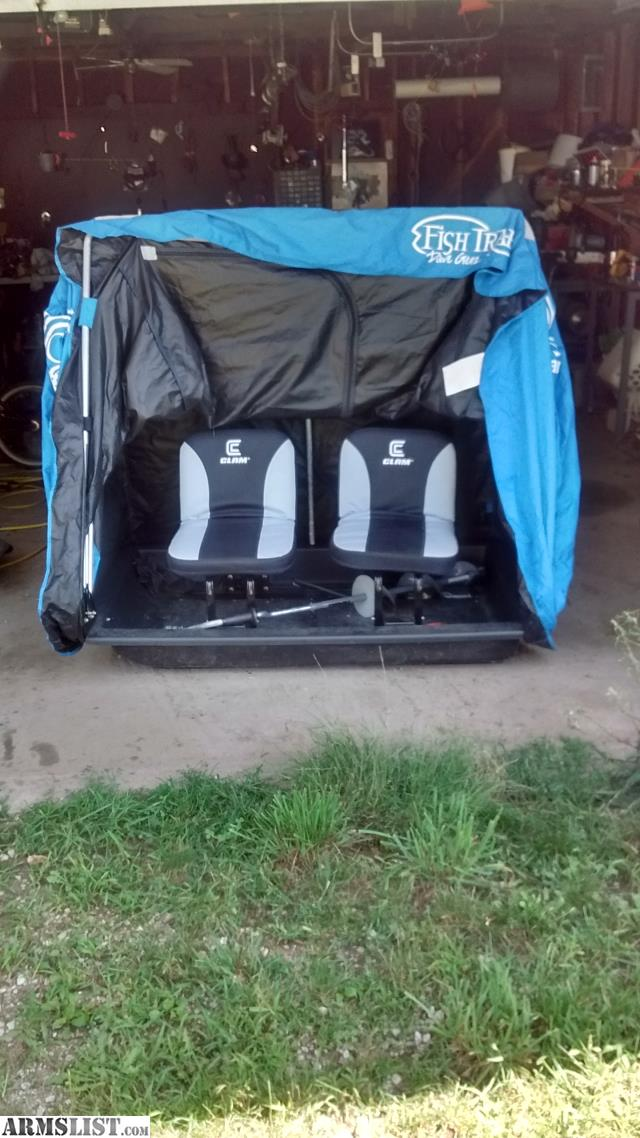 Armslist for sale trade ice fishing lot for Ice fishing shanty for sale