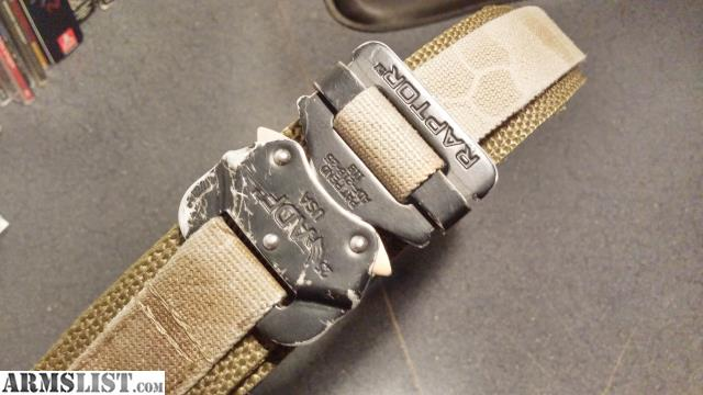 ARMSLIST - For Sale: EDC Belt - Browncoat Tactical
