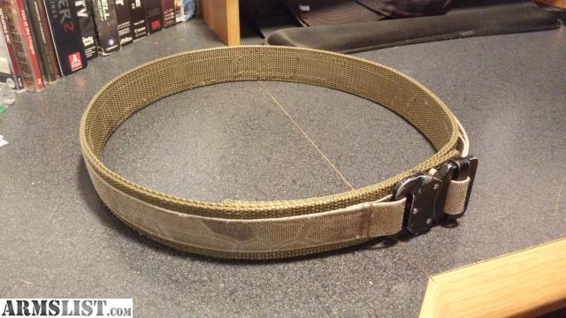 ARMSLIST - For Sale: EDC Belt - Browncoat Tactical
