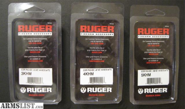 Ruger Scope Rings  Khm