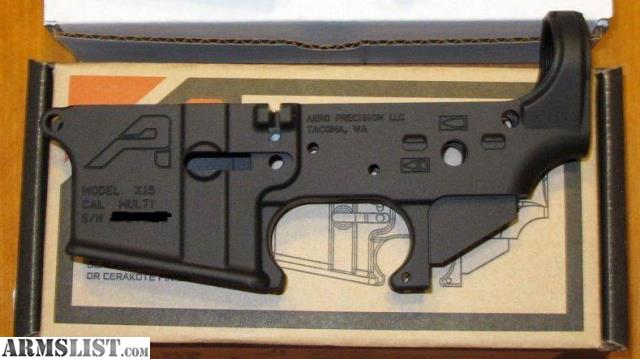 ARMSLIST - For Sale: Aero Precision stripped lowers and