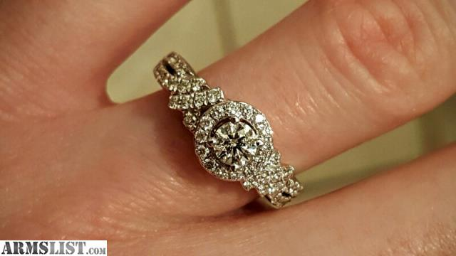 ARMSLIST For Sale Trade Zales engagement ring and wedding band