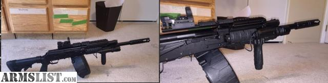 Armslist for sale modified saiga 12g shot gun w for 12 ga door breaching rounds