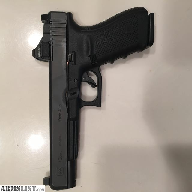 Armslist For Sale Glock 40 10mm With Vortex Viper