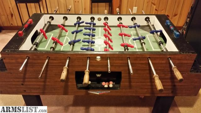ARMSLIST For SaleTrade Irving Kaye Hurricane Foosball Table - Where to buy foosball table