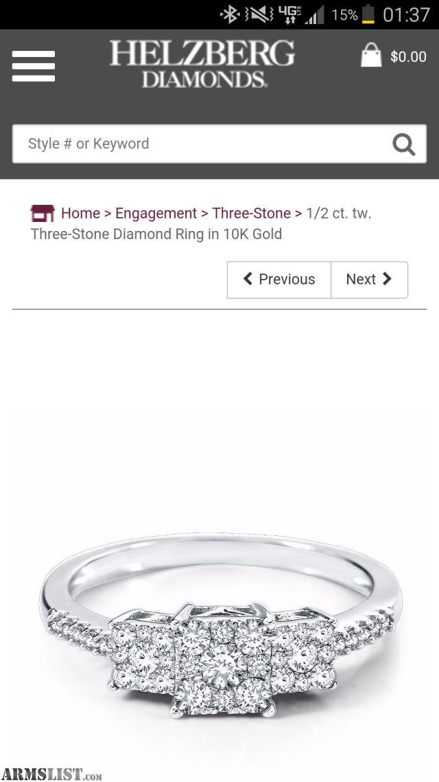 Helzberg Engagement Ring Box