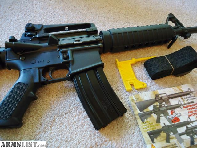 armslist for sale bushmaster ar 15 xm15 e2s patrolman carbine rh armslist com AR-15 Magazine Lock AR-15 Parts Breakdown Diagram