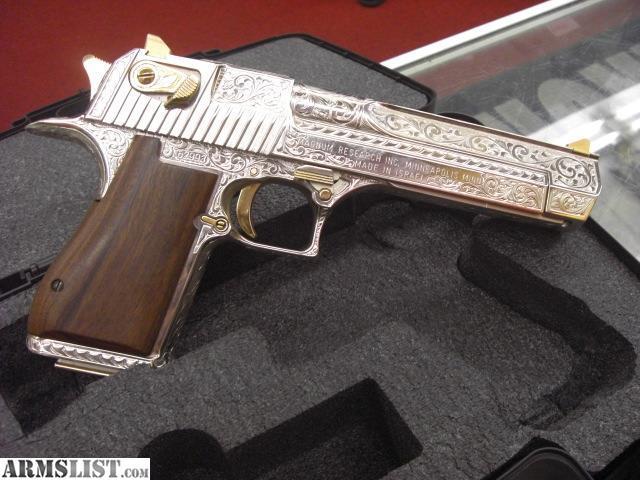 ARMSLIST - For Sale: Engraved Desert Eagle custom hand ...