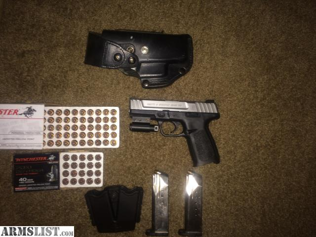 ARMSLIST - For Sale: S&W SD40VE