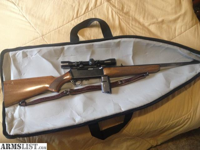 armslist for sale browning bar 30 06 belgium grade