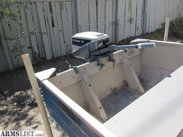 Armslist For Sale Trade Super Clean Mirrocraft Aluminum: aluminum boat and motor packages