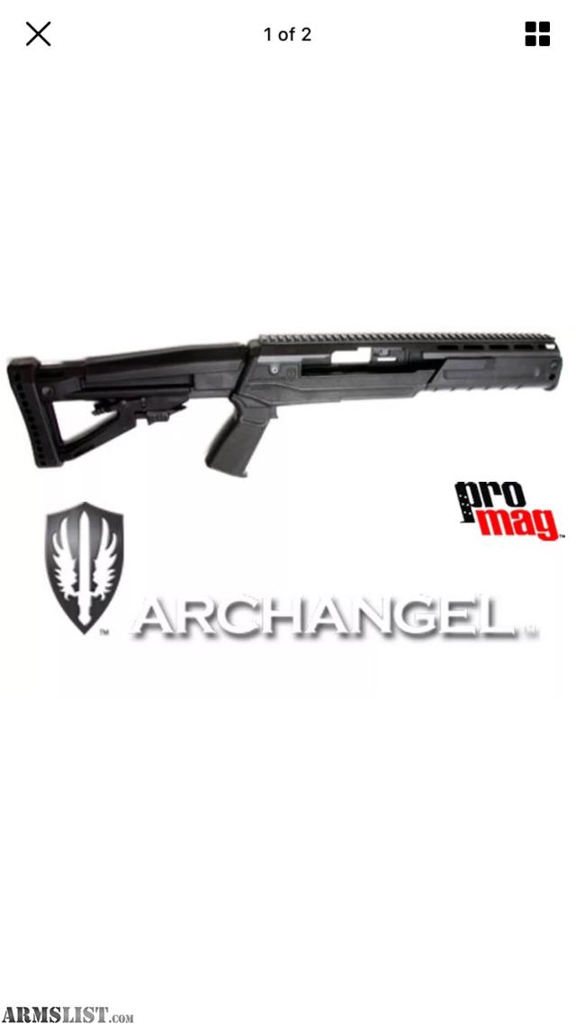 ARMSLIST - For Sale: ProMag Archangel Sparta Stock For Ruger Ranch Rifle