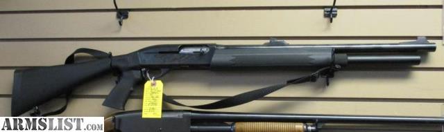 Remington Semi Auto Tactical Shotgun - More info
