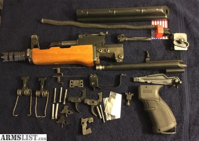 armslist for sale ak builder ak 47 9 pistol parts kit