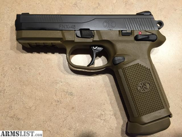 Armslist for sale trade fn fnx 45 fde