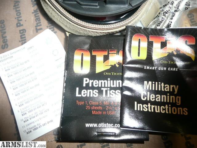 Armslist For Sale Otis 5 56 Cleaning Kit