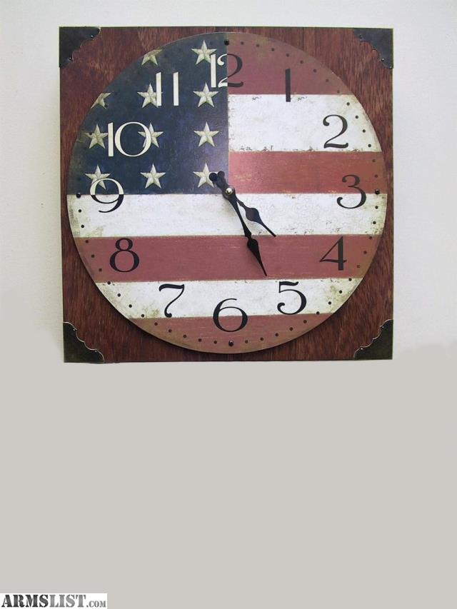 ARMSLIST For Sale TactiClock Concealment Wall Clock Gun SafeBox