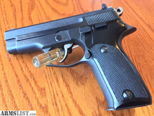 ARMSLIST - For Sale: Astra A-100 9mm pistol