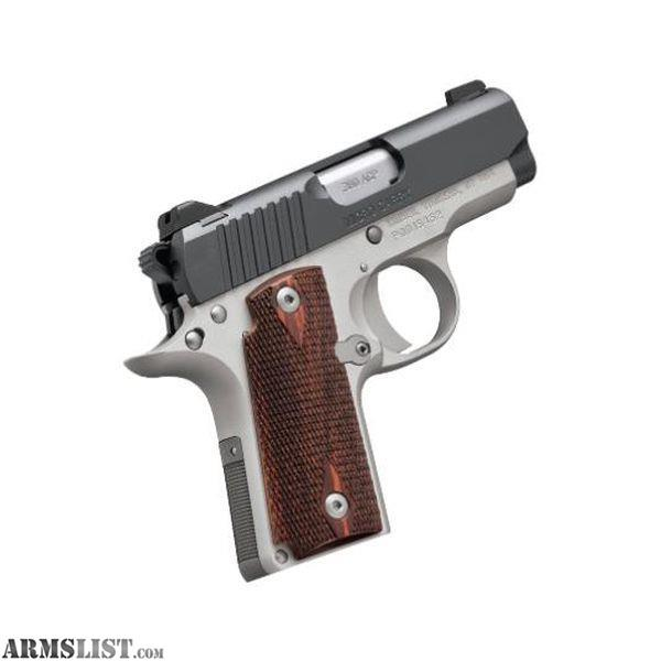 Kimber 9mm Micro 9 Stainless Tfx Pr: For Sale: Kimber Micro 9 Two-Tone 9mm