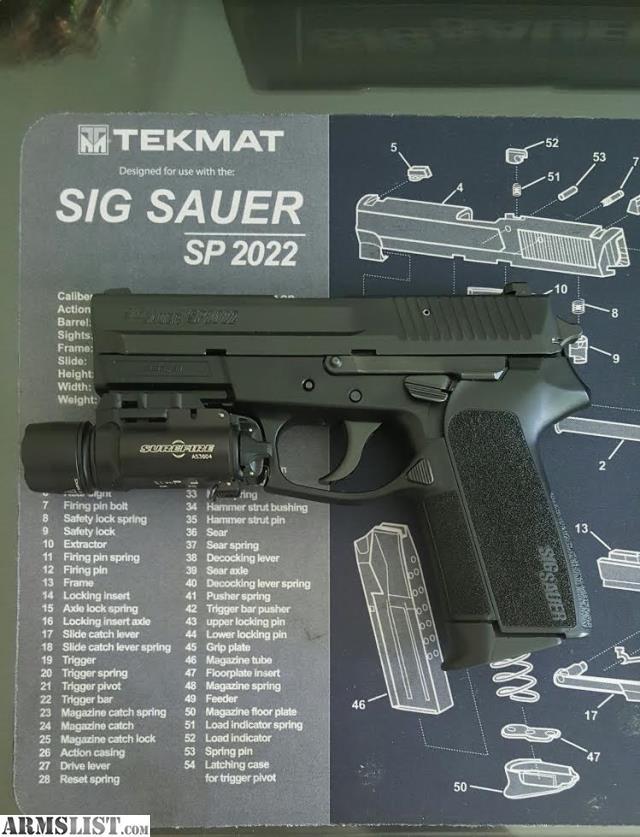 ARMSLIST - For Sale: Sig Sauer SP2022 .40 S&W