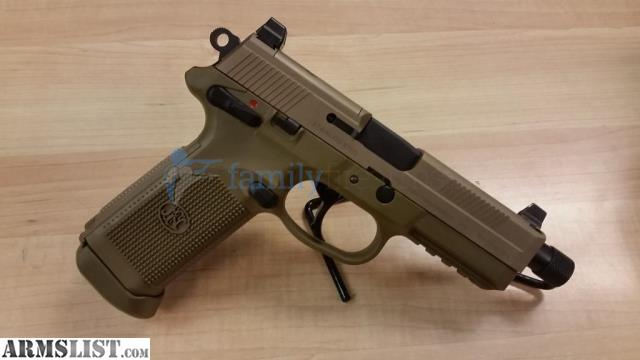 Armslist for sale fn fnh fnx 45 tactical 45acp fde unfired 5 3 quot