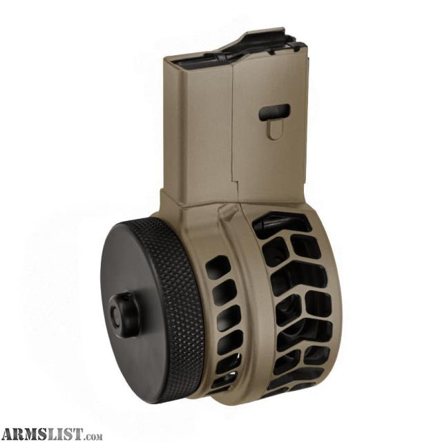 ... - For Sale: X-15 Skeletonized 50 Round Drum Magazine for AR-15
