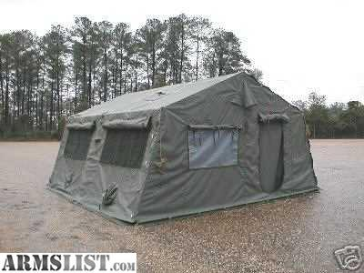 Armslist for sale trade military gp frame tent 16x16 for A frame canvas tents for sale
