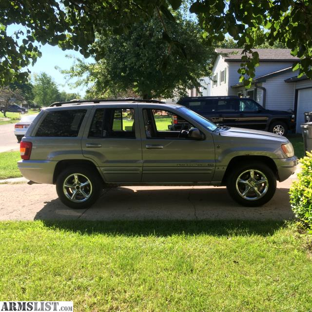 armslist for sale 2001 jeep grand cherokee limited 4x4. Cars Review. Best American Auto & Cars Review