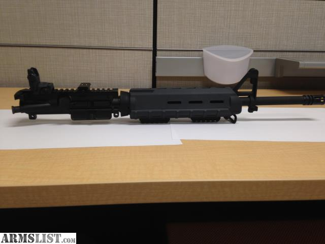 ARMSLIST - For Sale: Complete 9mm AR-15 Upper Assembly