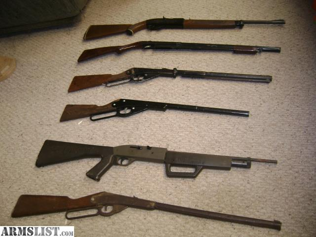 Vintage Crossman pellet guns