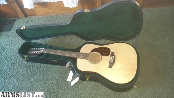 armslist for sale trade martin d12 gtm 12 string guitar. Black Bedroom Furniture Sets. Home Design Ideas