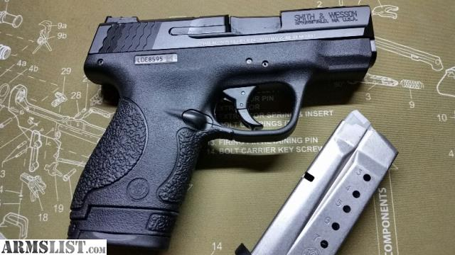 Armslist for sale nib s w performance center ported m p for M p ported shield 9mm