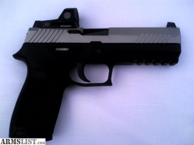 For sale trade sig sauer p320rx with sig romeo1 micro sight