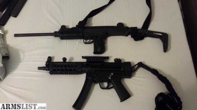 ARMSLIST - For Sale: authentic imi uzi model 45 and ca89 mp5
