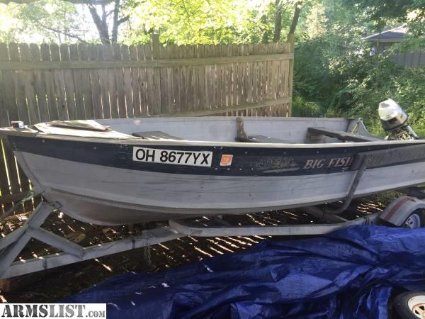 Armslist For Sale 12 39 Four Stroke Boat