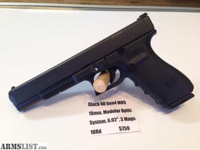 Armslist For Sale Glock 40 Gen4 10mm Mos 6 Barrel 3 Mags 10 1