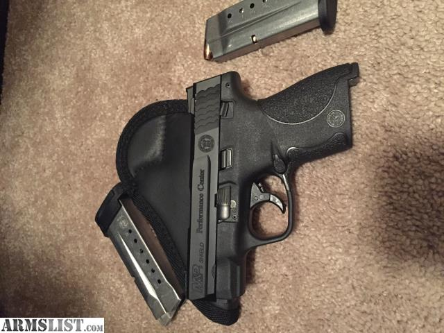 Armslist for sale trade m p shield performance center for M p ported shield 9mm