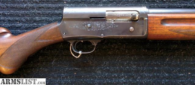 armslist for sale browning a5 shotgun 16 gauge fabrique nationale
