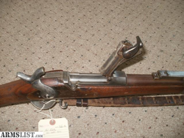 Armslist for sale: 1884 trap door rifle