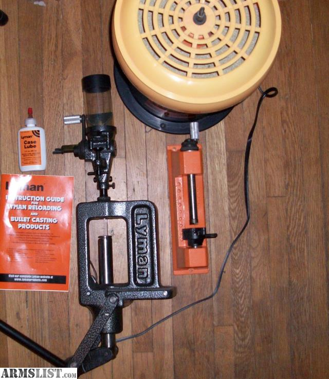 ARMSLIST - For Sale: Lyman Reloading Press and Acessories