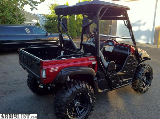Armslist for sale 2009 yamaha rhino 700 efi with sport pack for Yamaha grizzly 700 for sale