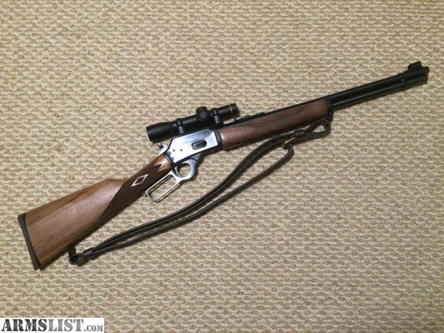 ARMSLIST - For Sale: Marlin 1894 44 Magnum w/Leupold Scope